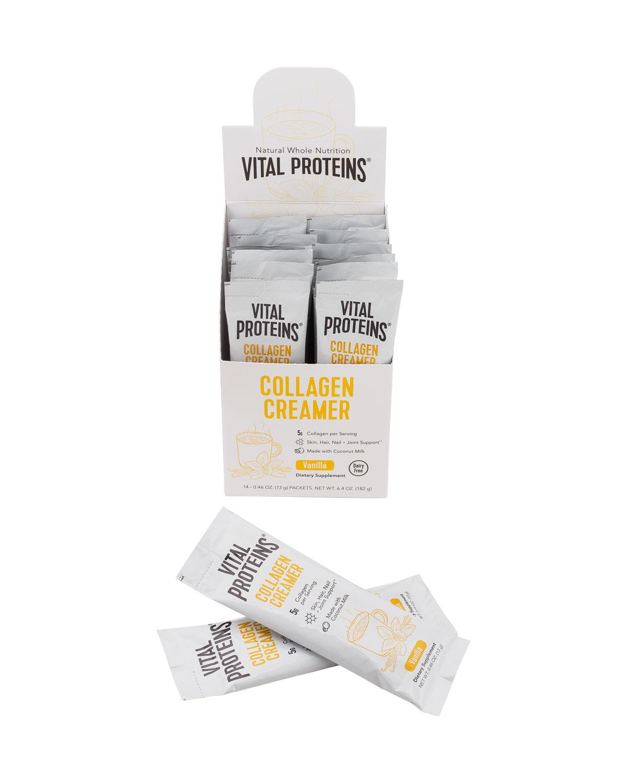 VITAL PROTEINS Collagen Creamer Vanilla Stick Pack Box, 14 Ct