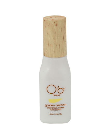 O'o Hawaii 1 oz. Golden Nectar Brightening+Firming Ferulic Serum