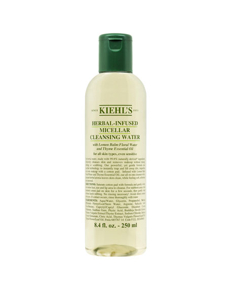 Kiehl's Since 1851 Herbal-Infused Micellar Cleansing Water, 8.4 oz./ 250 mL