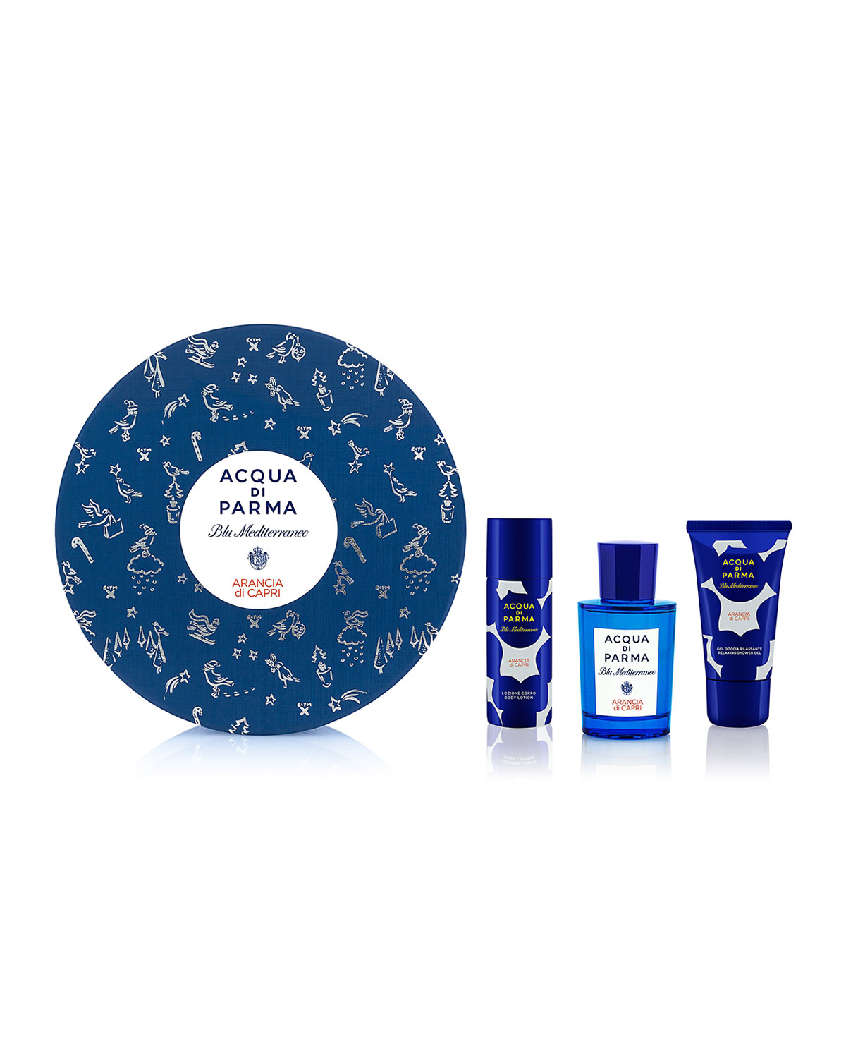Acqua Di Parma ARANCIA DI CAPRI GIFT SET ($135 VALUE)