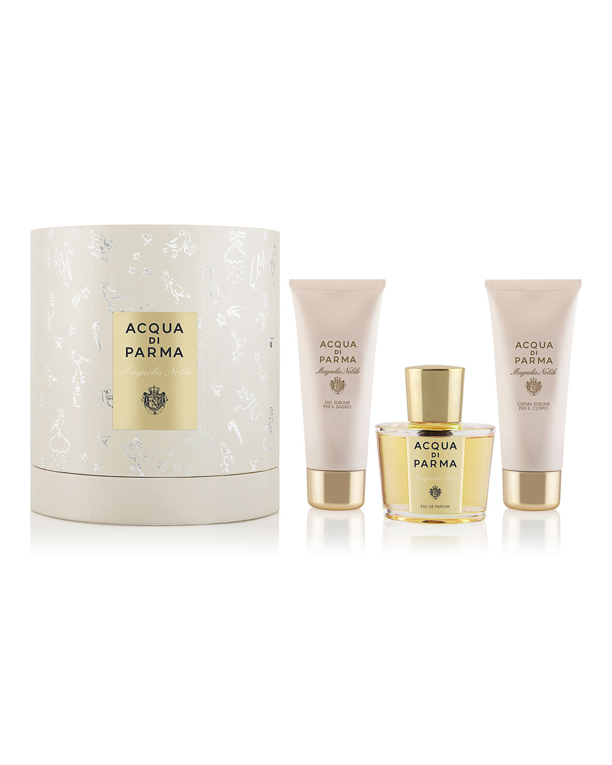 Acqua Di Parma MAGNOLIA NOBILE GIFT SET ($270 VALUE)