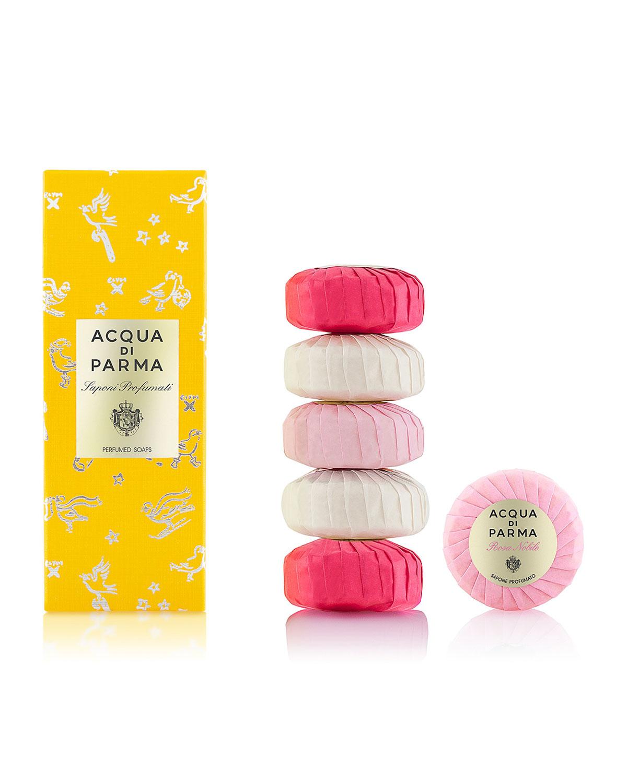 Acqua Di Parma Le Nobili Soap Set, 6 x 50 g