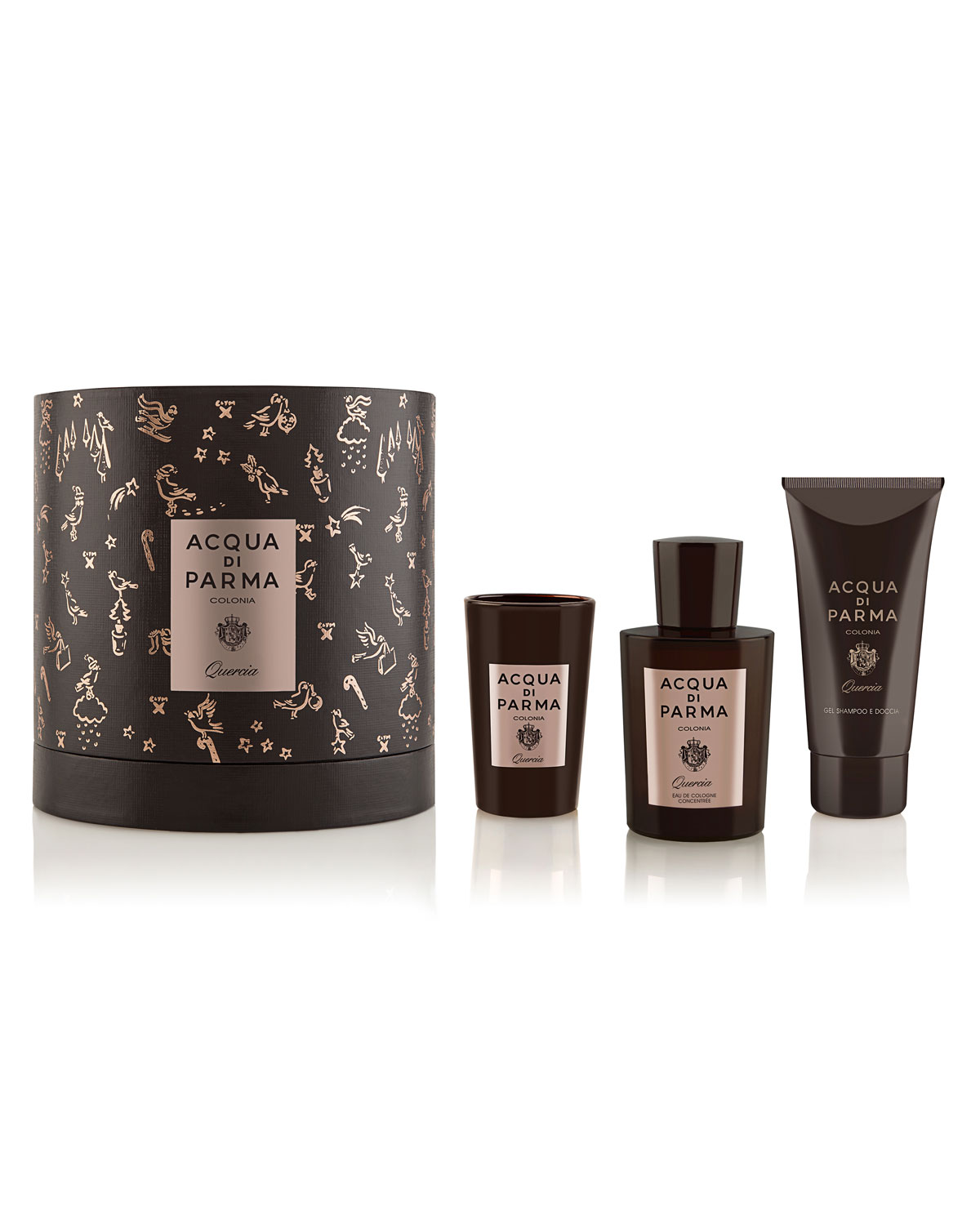 Acqua Di Parma COLONIA QUERCIA GIFT SET ($306 VALUE)