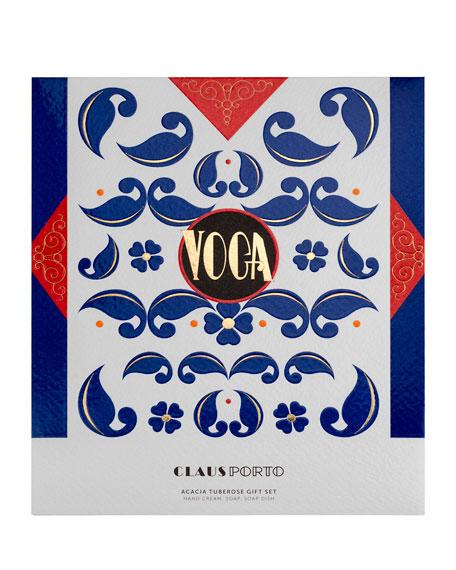 Claus Porto VOGA Hand Cream, Soap and Dish Gift Set