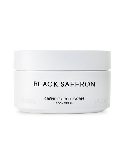 Black Saffron Body Cream, 6.7 oz./ 200 mL