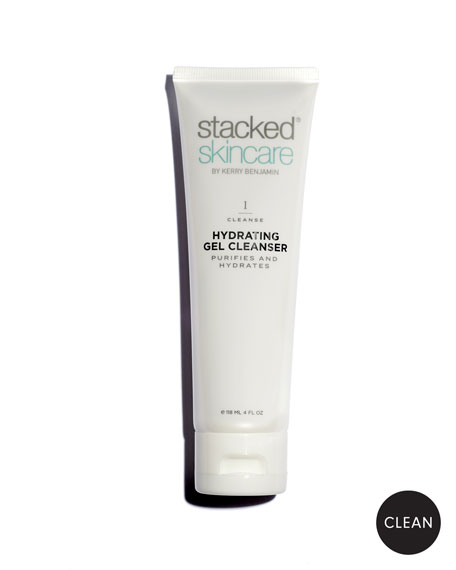 StackedSkincare Hydrating Gel Cleanser, 4.0 oz./ 118 mL