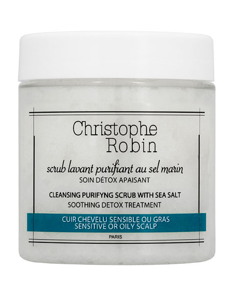 Christophe Robin 2.7 oz. Cleansing Purifying Scrub with Sea Salt Travel Size