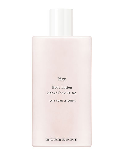 Burberry Her Body Lotion, 6.8 oz./ 200 mL
