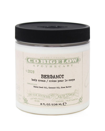 Bergamot Body Cream, 8 oz./ 236 mL