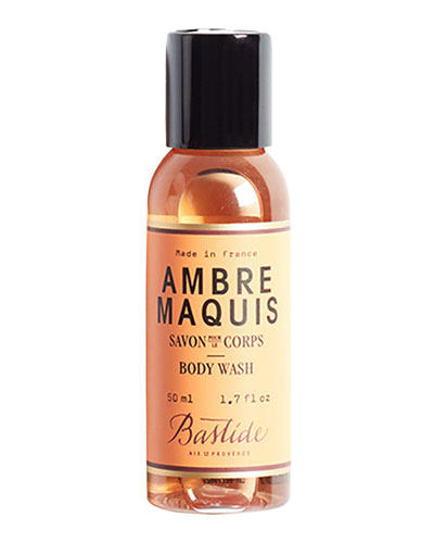 Ambre Maquis Body Wash, 1.7 oz./ 50 mL