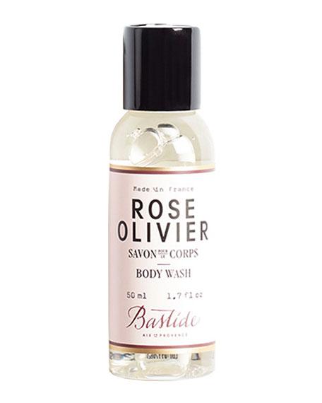 Bastide 1.7 oz. Rose Olivier Body Wash