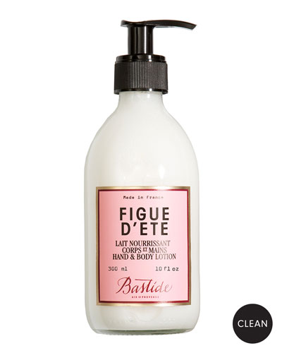 Figue d'Ete Hand & Body Lotion, 10 oz./ 300 mL