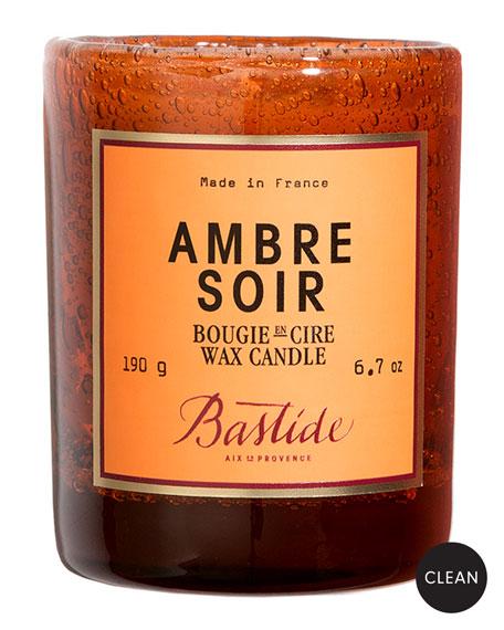 Bastide Ambre Soir Wax Candle, 6.7 oz./190 g