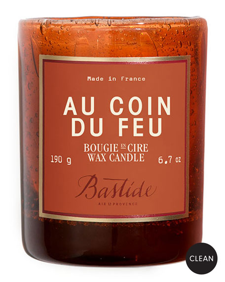 Bastide Au Coin du Feu Candle, 6.7 oz./190 g