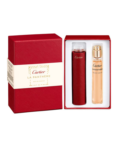 La Panthere Eau de Parfum Set, 2 x 0.5 oz.