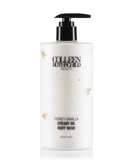 Colleen Rothschild Beauty Creamy Oil Body Wash, Honey Vanilla