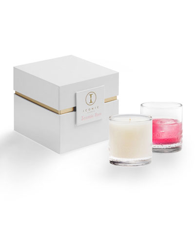 Iconic Rose Luxury Candle, 9 oz.