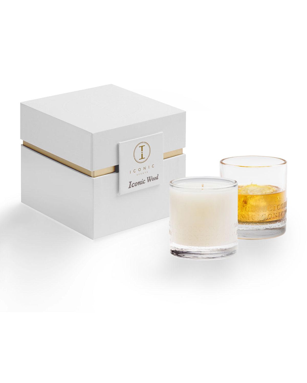9 oz. Iconic Wood Luxury Candle