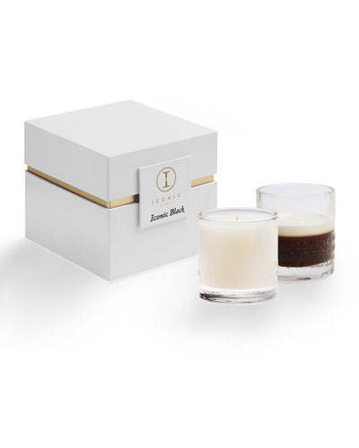 Iconic Black Luxury Candle, 9 oz.