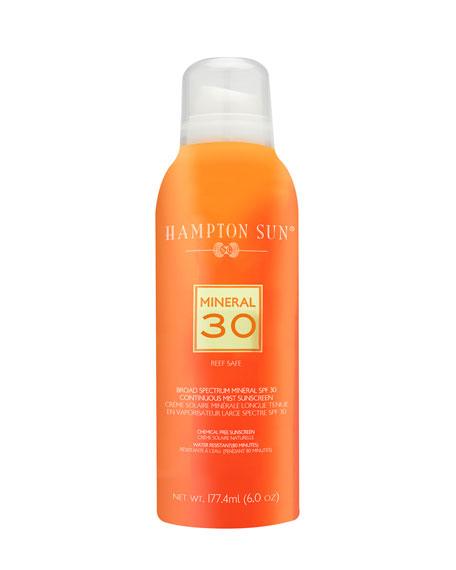 Hampton Sun SPF 30 Mineral Mist, 6 oz./ 177 mL