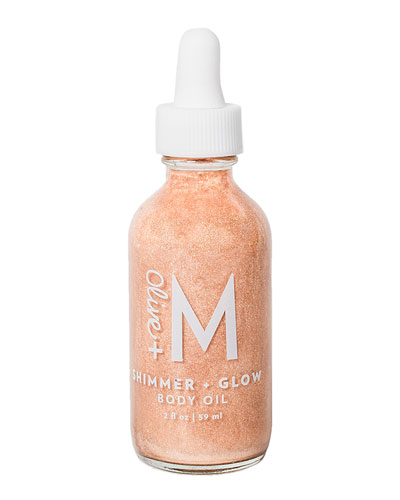 Shimmer + Glow Body Oil, 2 oz./ 60 mL
