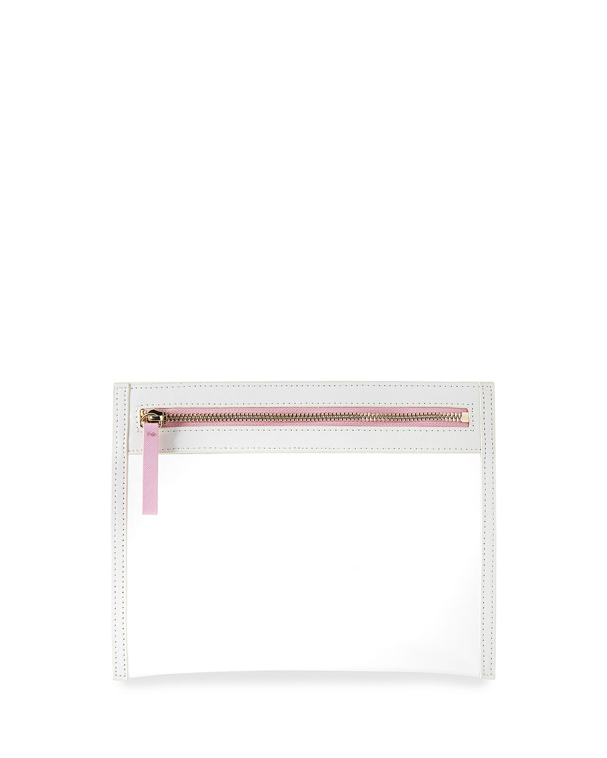 NM Exclusive Small Clarity Clutch