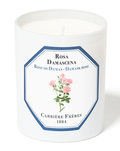 Damask Rose Candle, 6.5 oz. / 184 g