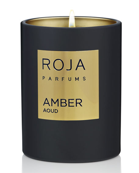 Roja Parfums 7.8 oz. Amber Aoud Candle