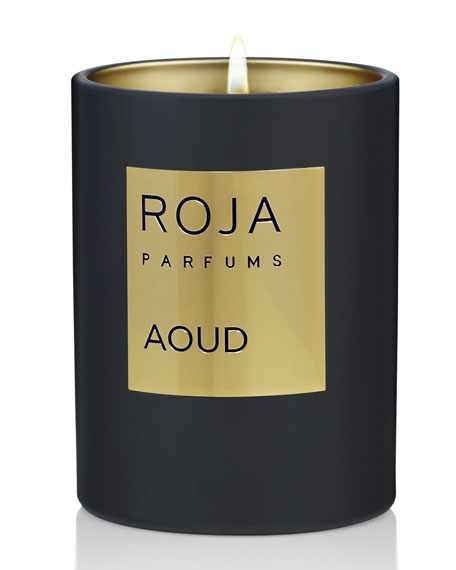 Roja Parfums Aoud Candle, 7.8 oz./ 220 g