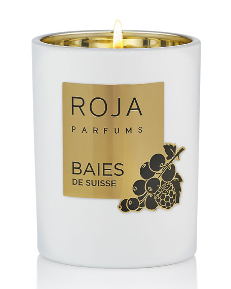 Roja Parfums 7.8 oz. Baies De Suisse Candle