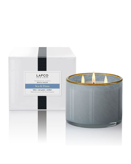 Lafco Sea & Dune 3-Wick Candle - Beach House, 30 oz./850g