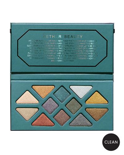 Crystal Grid Gemstone Makeup Palette