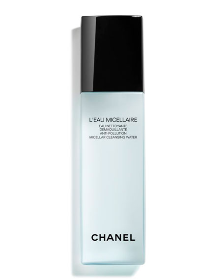 CHANEL <b>L'EAU MICELLAIRE</b><br>Anti-Pollution Micellar Cleansing Water, 5.0 oz.