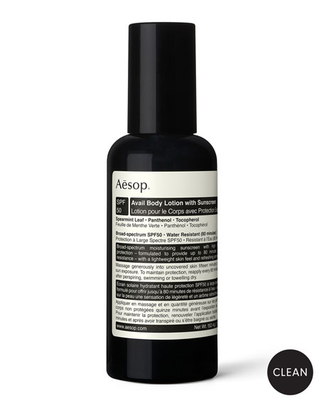 Aesop 5 oz. Avail Body Lotion SPF50