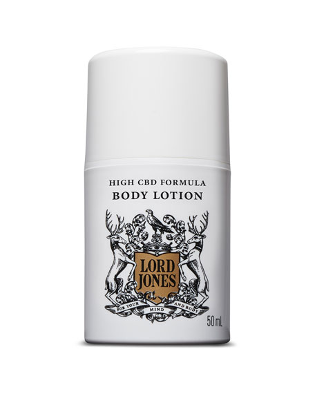 Lord Jones 1.69 oz. High CBD Formula Body Lotion - Fragrance Free