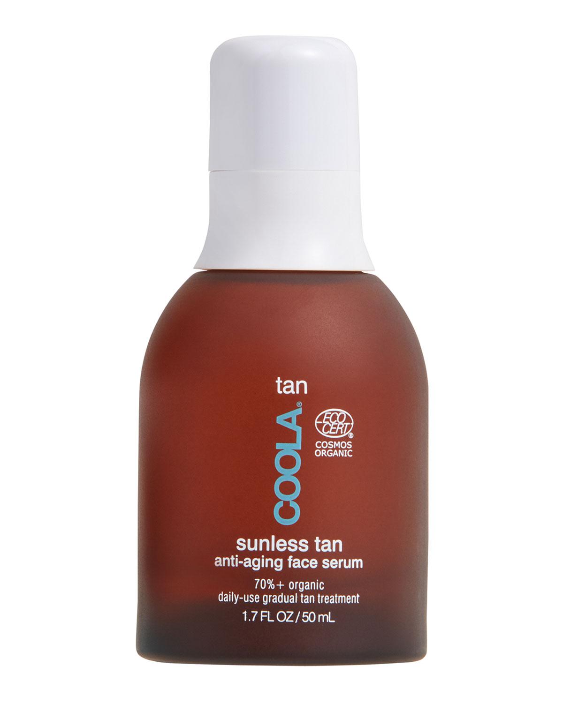 1.7 oz. Organic Sunless Tan Anti-Aging Face Serum