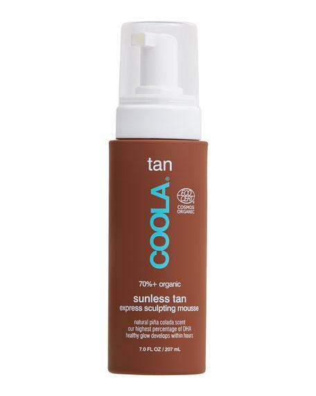 COOLA 7 oz. Organic Sunless Tan Express Sculpting Mousse