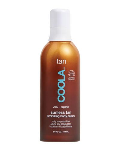 Organic Sunless Tan Luminizing Body Serum, 5 oz./ 148 mL