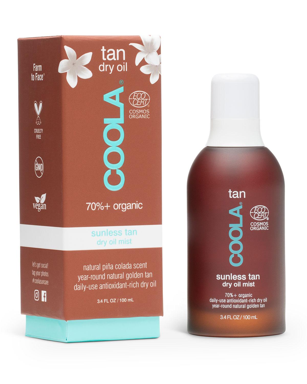 3.4 oz. Organic Sunless Tan Dry Oil Mist