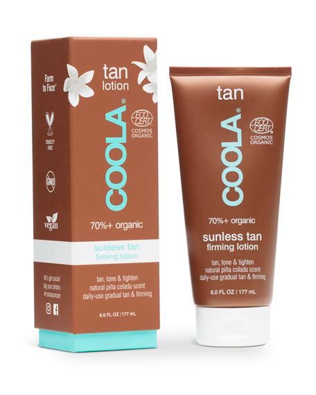 Coola 6 oz. Organic Sunless Tan Firming Lotion