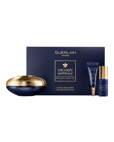 Guerlain Limited Edition Orchidee Imperiale Anti-Aging Cream Set ($572 Value)