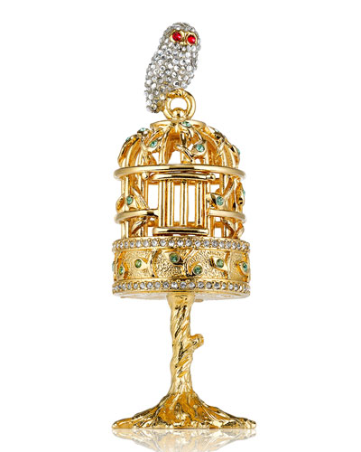 Beautiful Bird Song Perfume Compact by Monica Rich Kosann