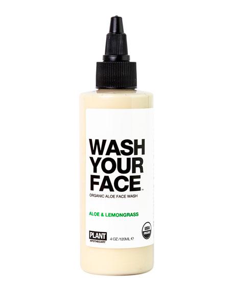 Plant Apothecary 4 oz. WASH YOUR FACE Organic Aloe Face Wash
