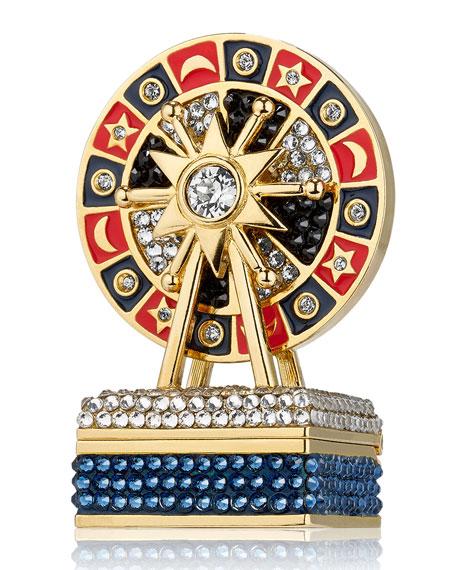 Estee Lauder Pleasures Royal Roulette Perfume Compact by Monica Rich Kosann