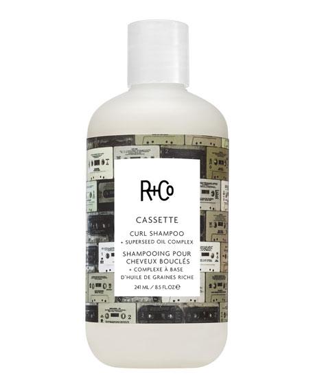 R+Co Cassette Curl Shampoo + Superseed Oil Complex, 8.5 oz./ 251 mL