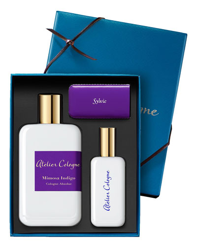 Mimosa Indigo Cologne Absolue, 200 mL with Personalized Travel Spray, 1.0 ...