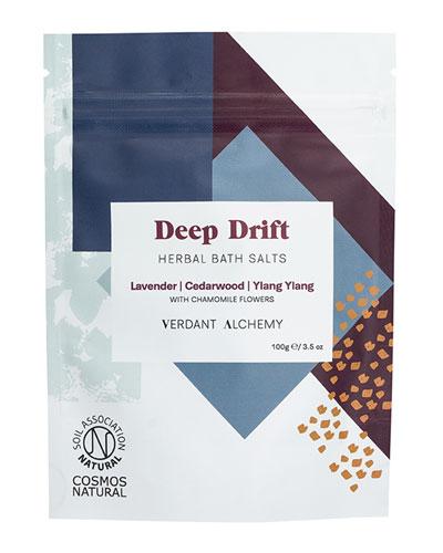 Deep Drift Herbal Bath Salts, 3.5 oz. / 100 mg