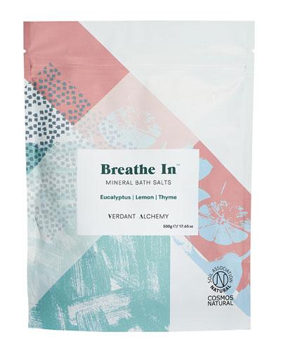 Breathe In Bath Salts,  17.6 oz. / 500 mg