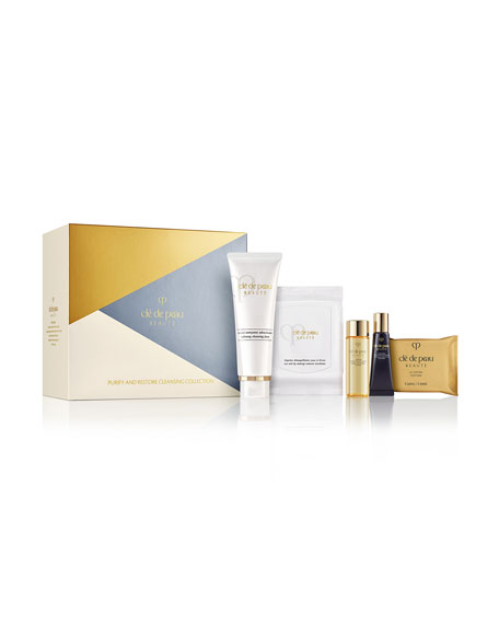 Cle de Peau Beaute Purify and Restore Cleansing Collection ($150 Value)