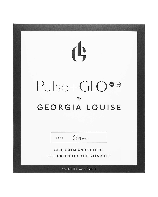 PULSE+GLO Green Sheet Masks